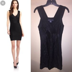 New French Connection black bandage dress
